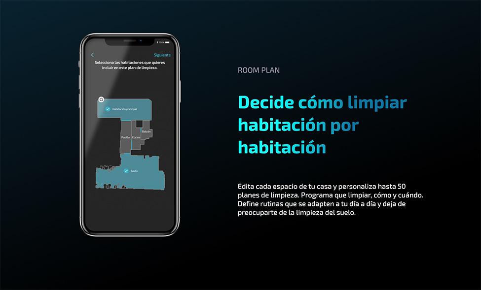 aplicación móvil del modelo 5090