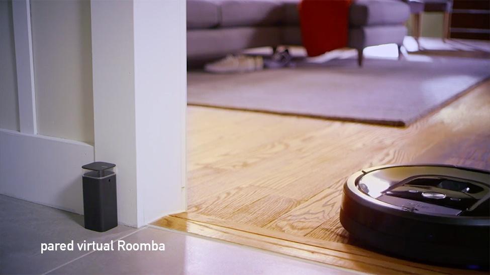pared virtual Roomba