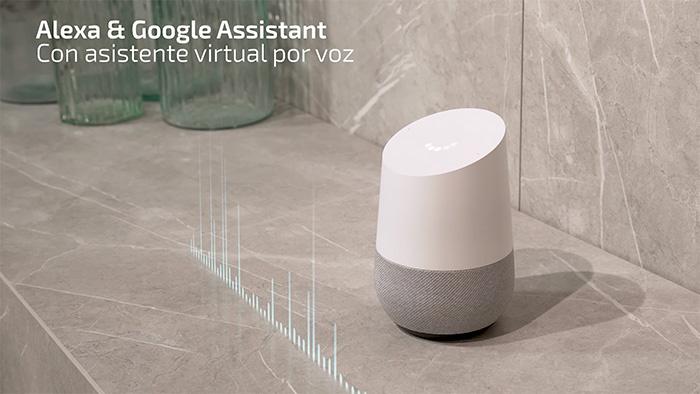 compatible con Google Home y Alexa