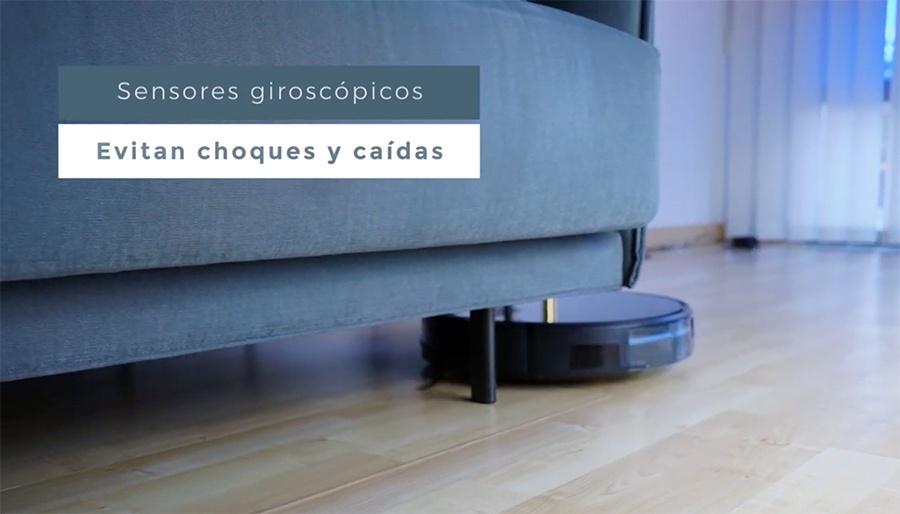 sensores del robot de Ikohs Create